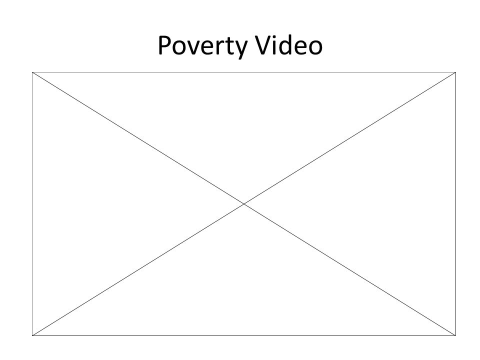 Poverty Video