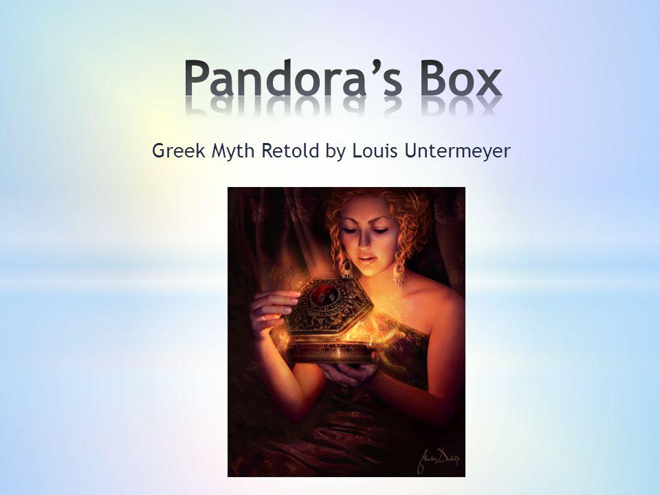 Greek Myth Retold by Louis Untermeyer