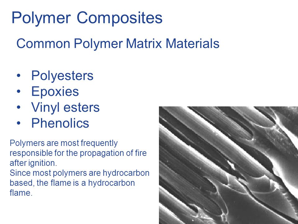 Polymer Combustion Phases of Polymer combustion: Polymer heating to a temperature where decomposition starts.