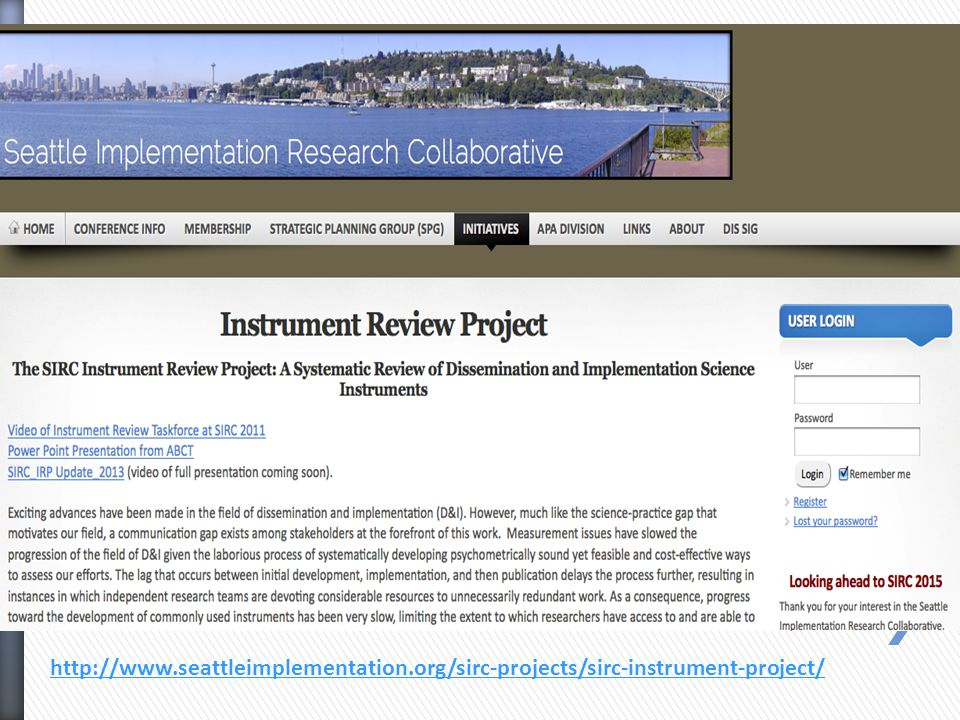 http://www.seattleimplementation.org/sirc-projects/sirc-instrument-project/