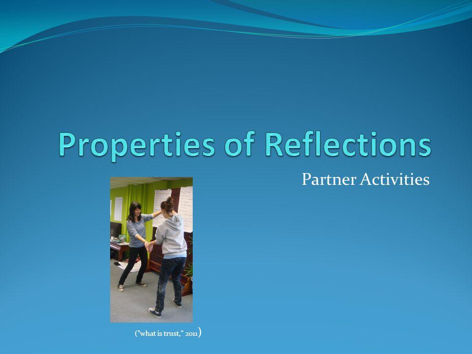 Partner Activities ( what is trust, 2011 )