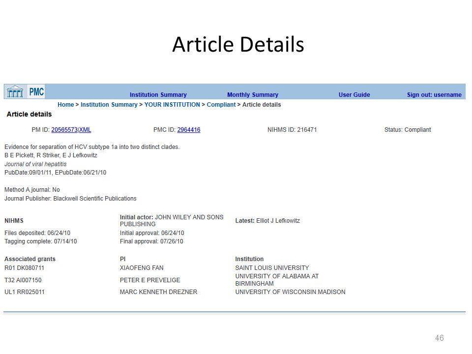 Article Details 46