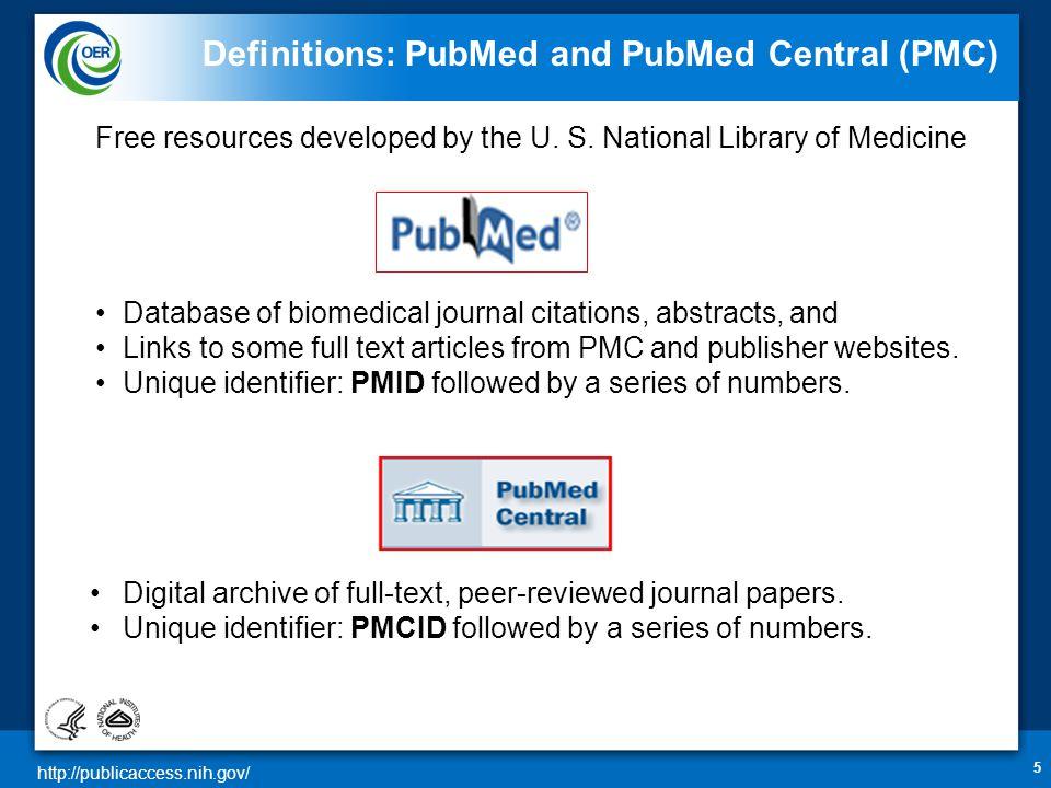http://publicaccess.nih.gov/ Delegation in My Bibliography 36