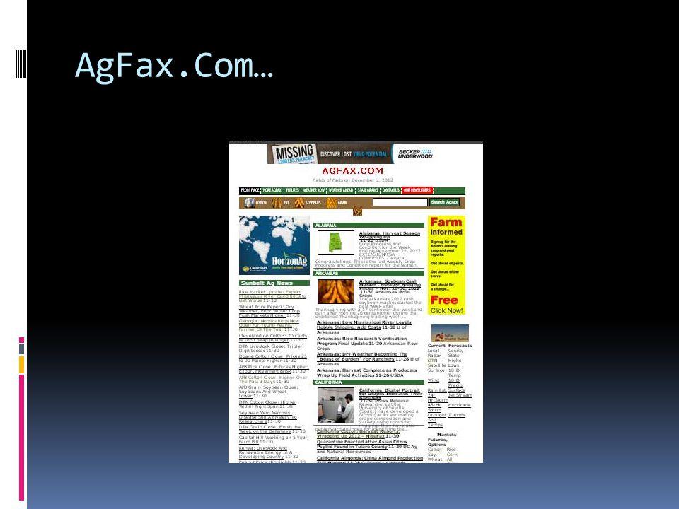 AgFax.Com…