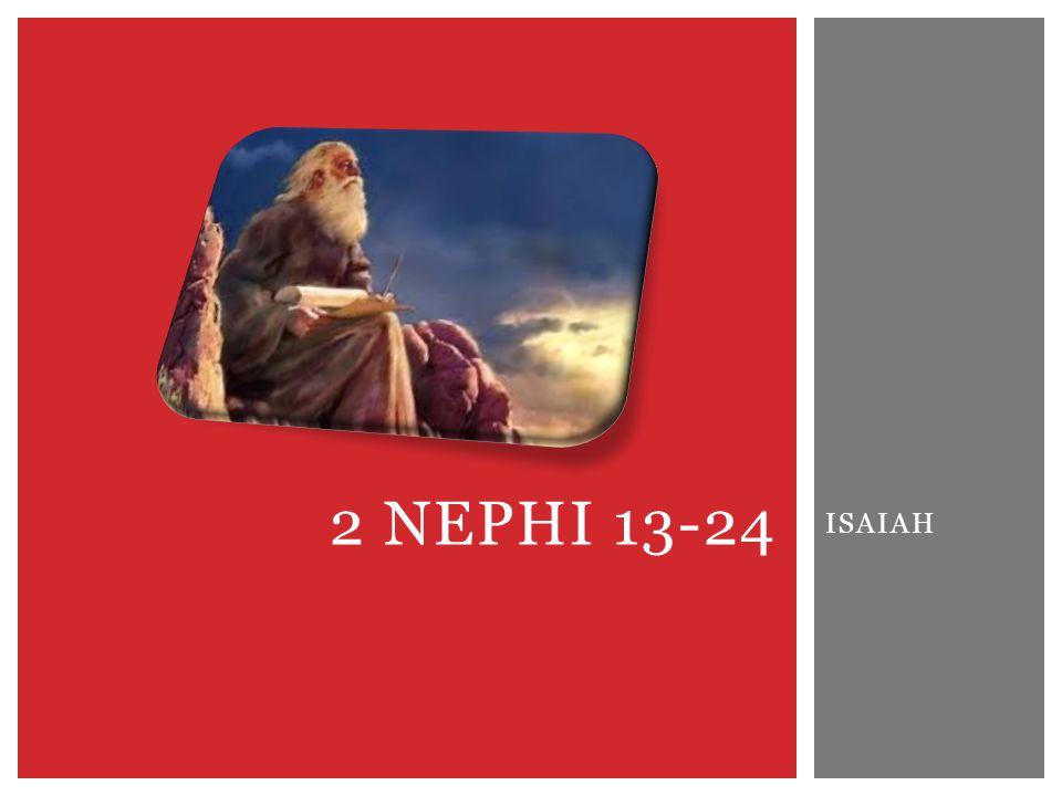 ISAIAH 2 NEPHI 13-24
