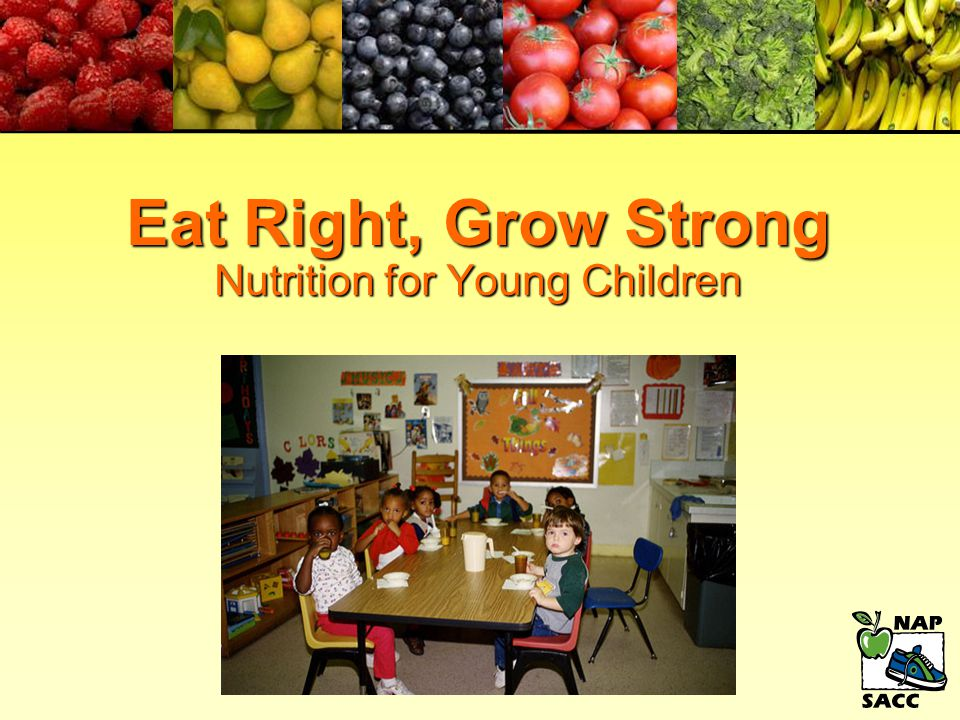 Nutrition Education for Staff, Children, and Parents n If children hear the same health messages from parents and from child care providers, they're more likely to listen.