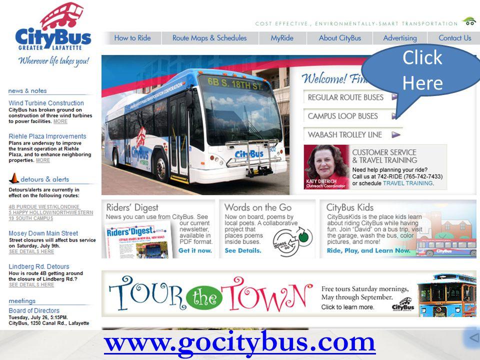 www.gocitybus.com Click Here