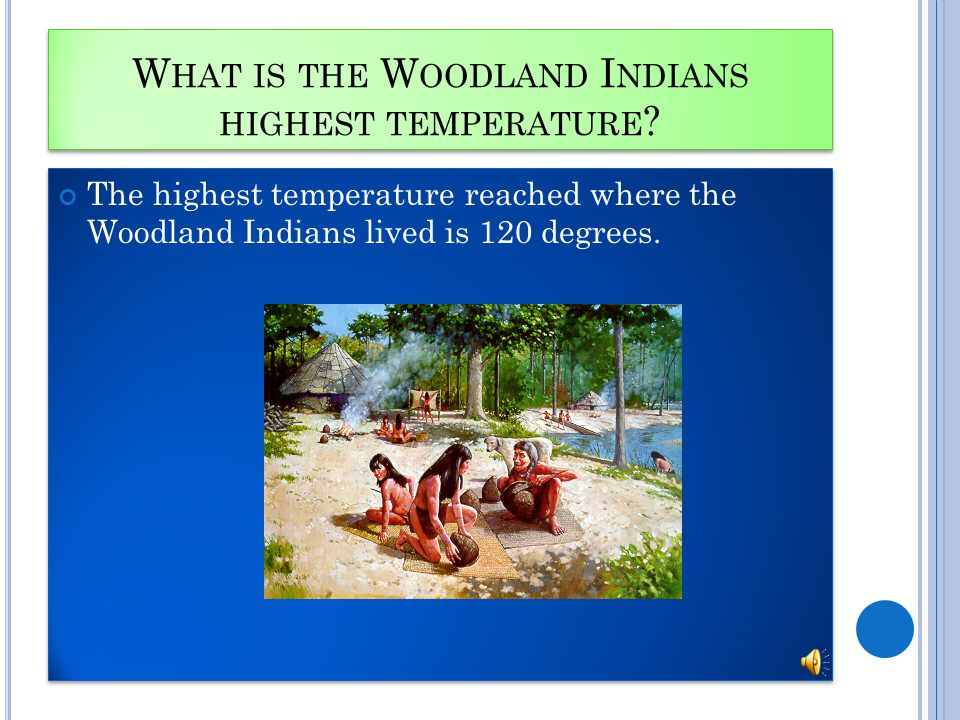 W HAT IS THE W OODLAND I NDIANS HIGHEST TEMPERATURE .