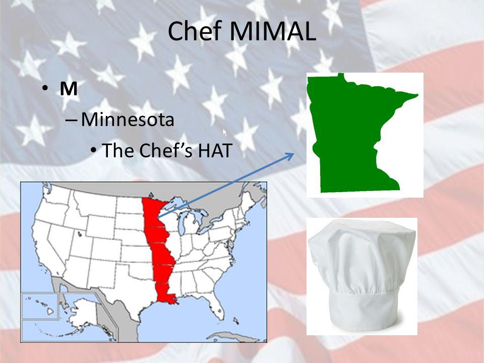 Chef MIMAL I – IOWA The Chef's face – Eye in eye-o-wa
