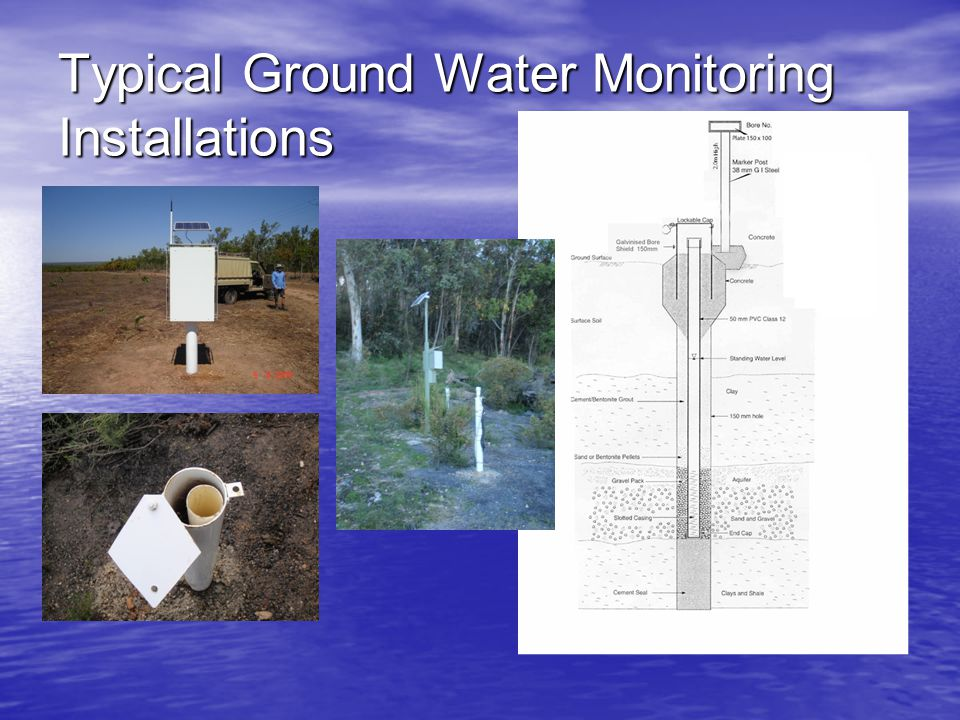 Typical Ground Water Monitoring Installations