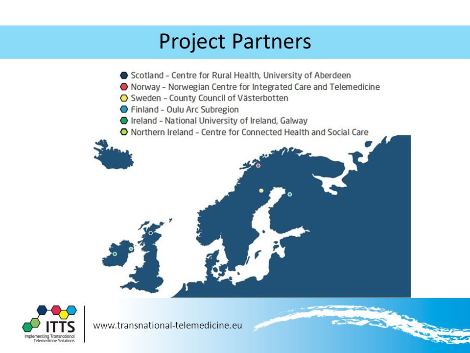 www.transnational-telemedicine.eu Project Partners