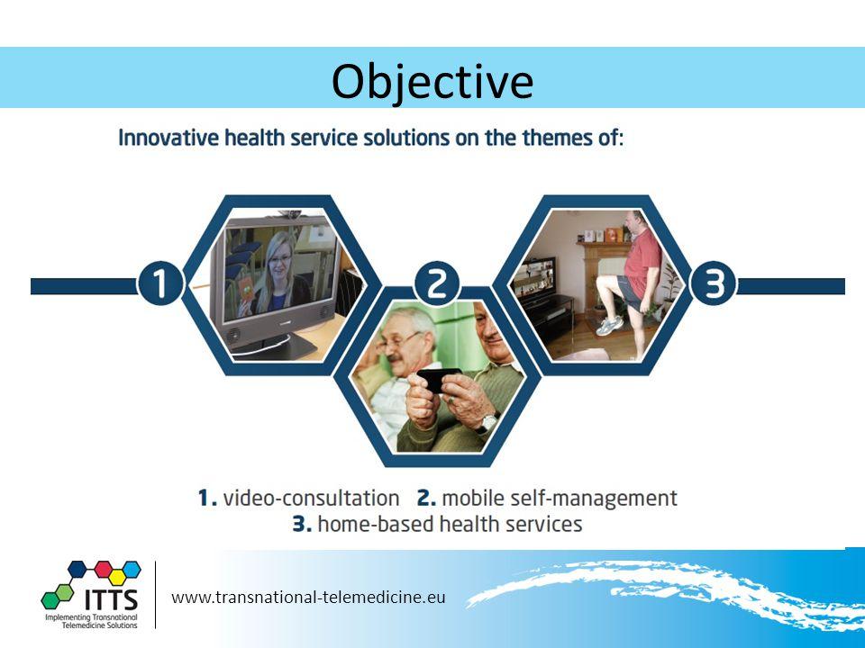 www.transnational-telemedicine.eu Objective