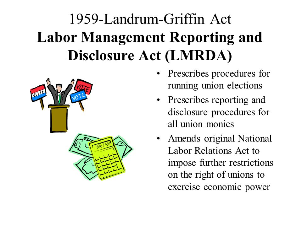 Laws and Actions Unions SIGNIFICANT EVENTS IN LABOR HISTORY A.F.L.