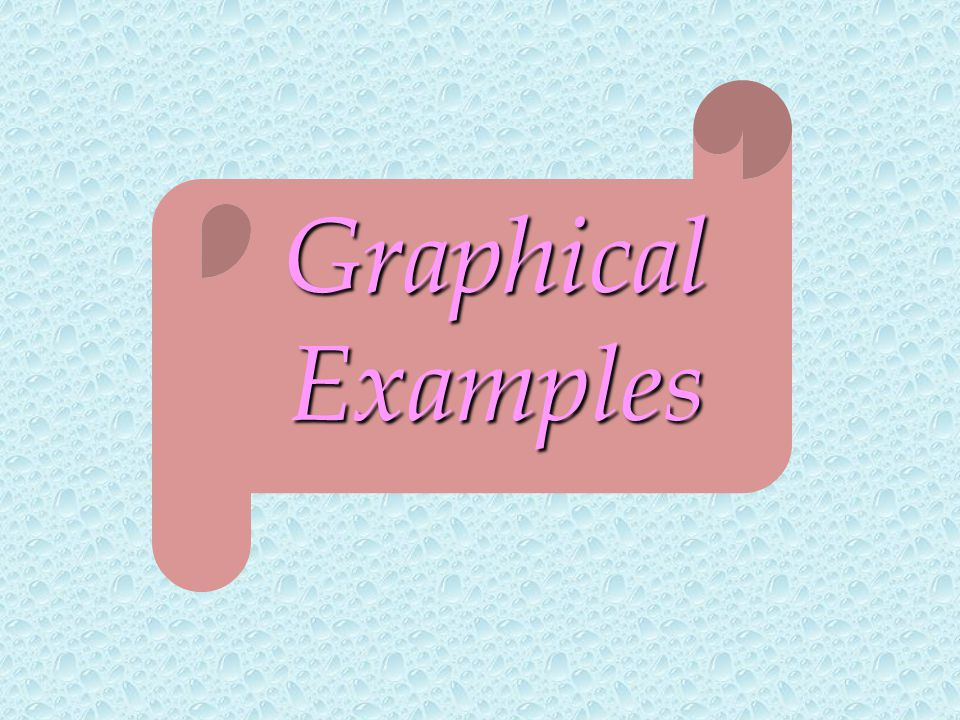 Graphical Examples