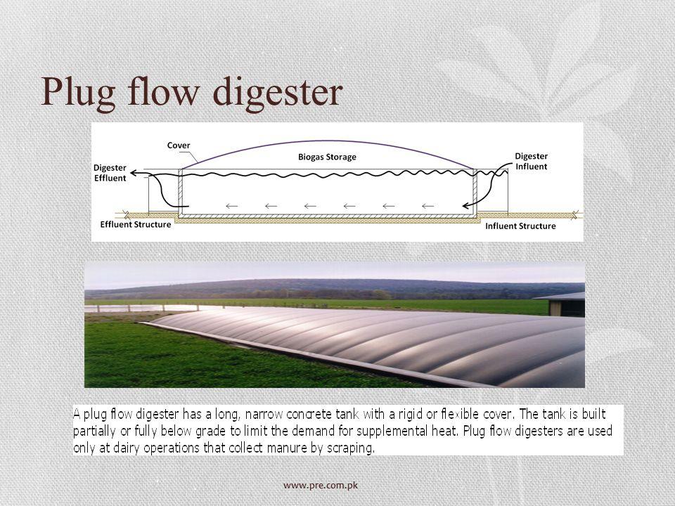 www.pre.com.pk Plug flow digester