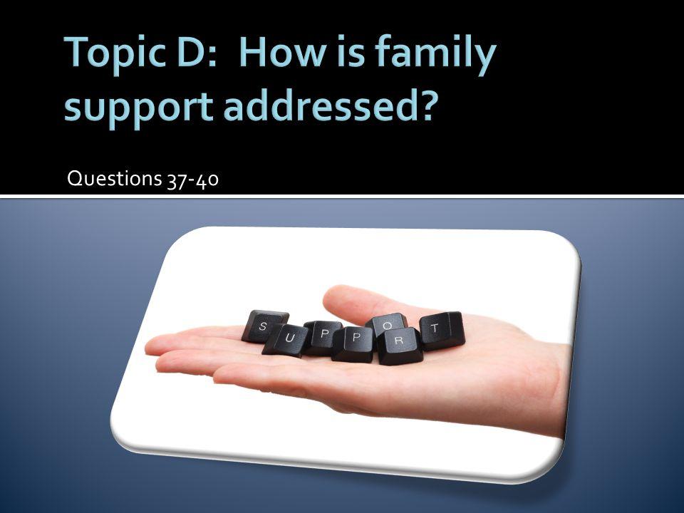 Questions 37-40