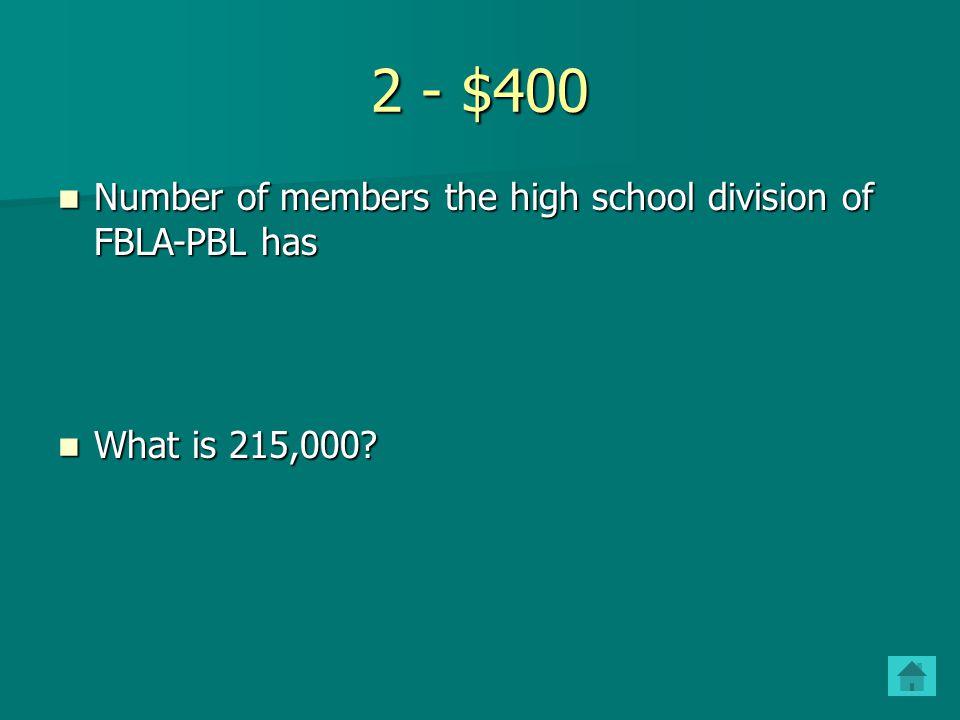 2 - $300 Current FBLA national president Current FBLA national president Who is Cole Simmons? Who is Cole Simmons?