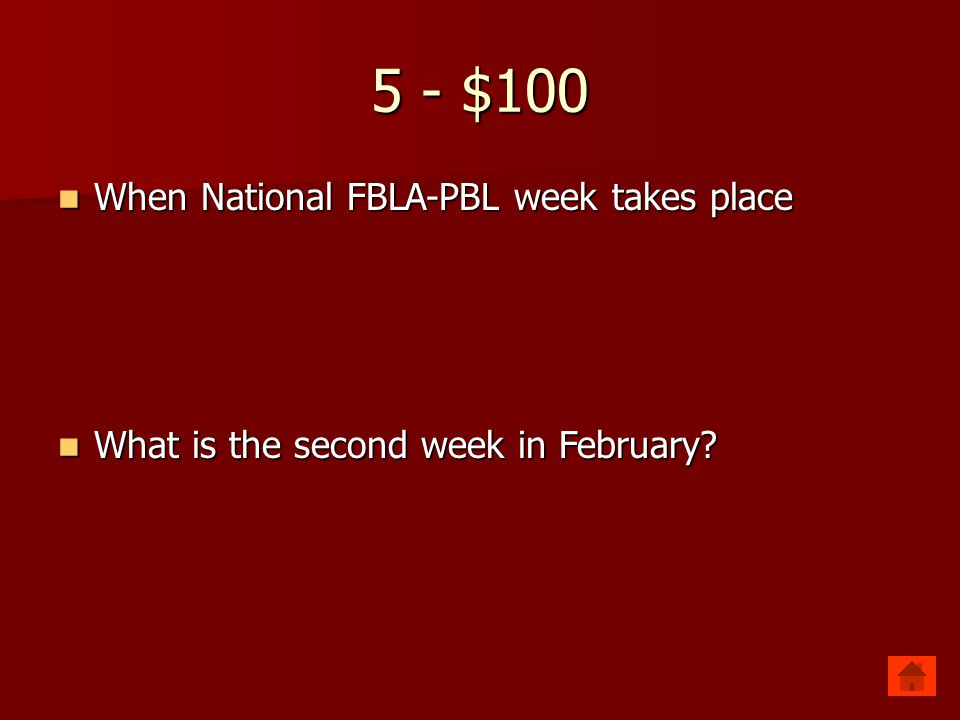 4 - $500 When and where the first NJ State Leadership Conference was held When and where the first NJ State Leadership Conference was held What is May