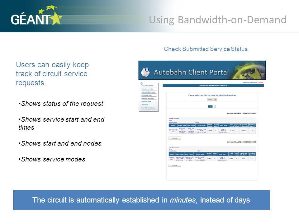 European networks deploying perfSONAR MDM.