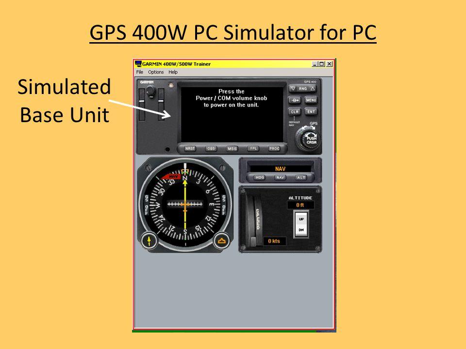 GPS 400W PC Simulator for PC Simulated Base Unit