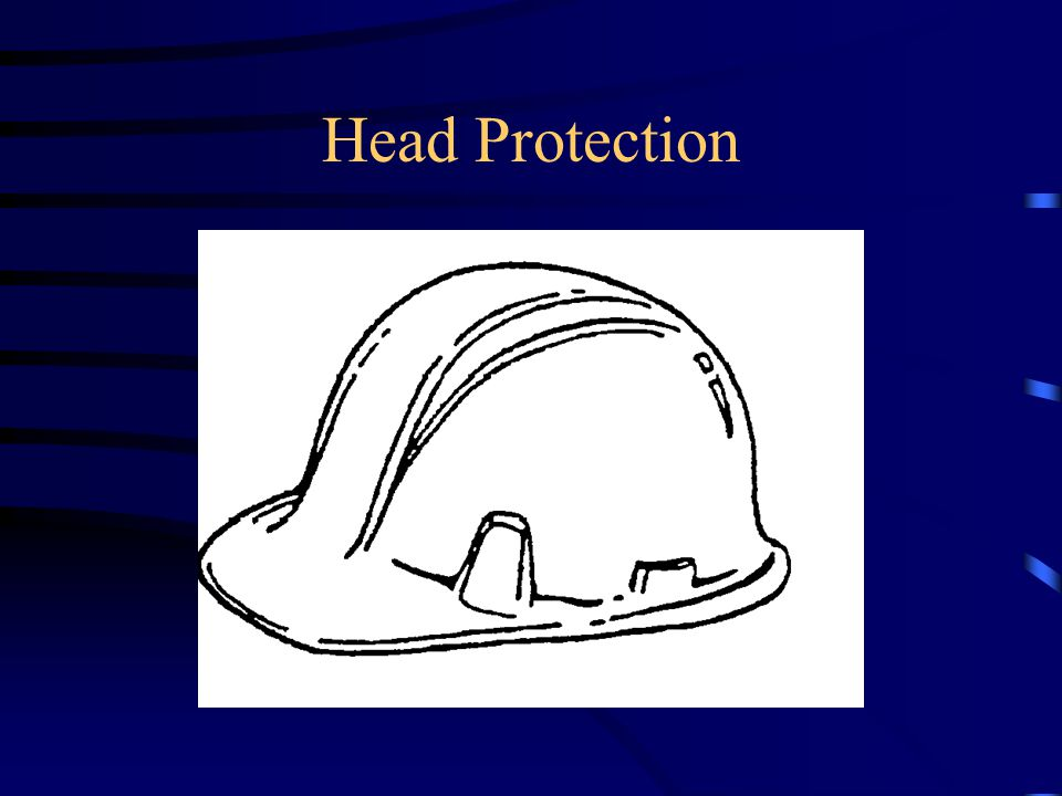PPE Head protection Eye and Face protection Hearing protection Respiratory protection Arm and Hand protection Foot and Leg protection Protective clothing