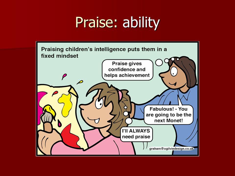 Praise: ability