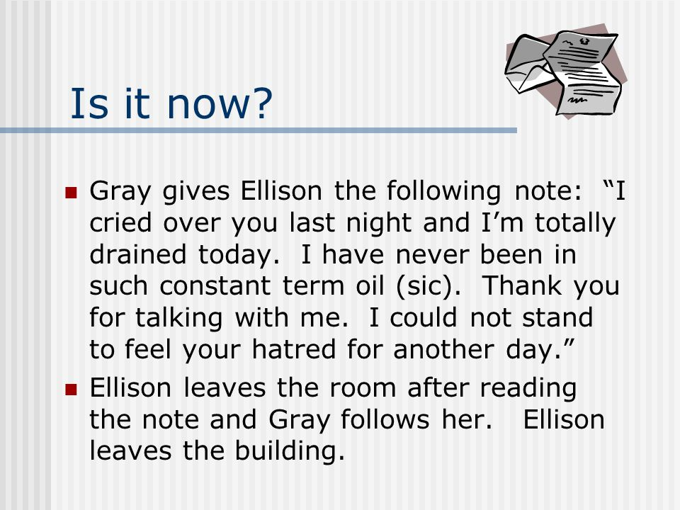 Is this a hostile work environment. Ellison and Gray are revenue agents in the same office.