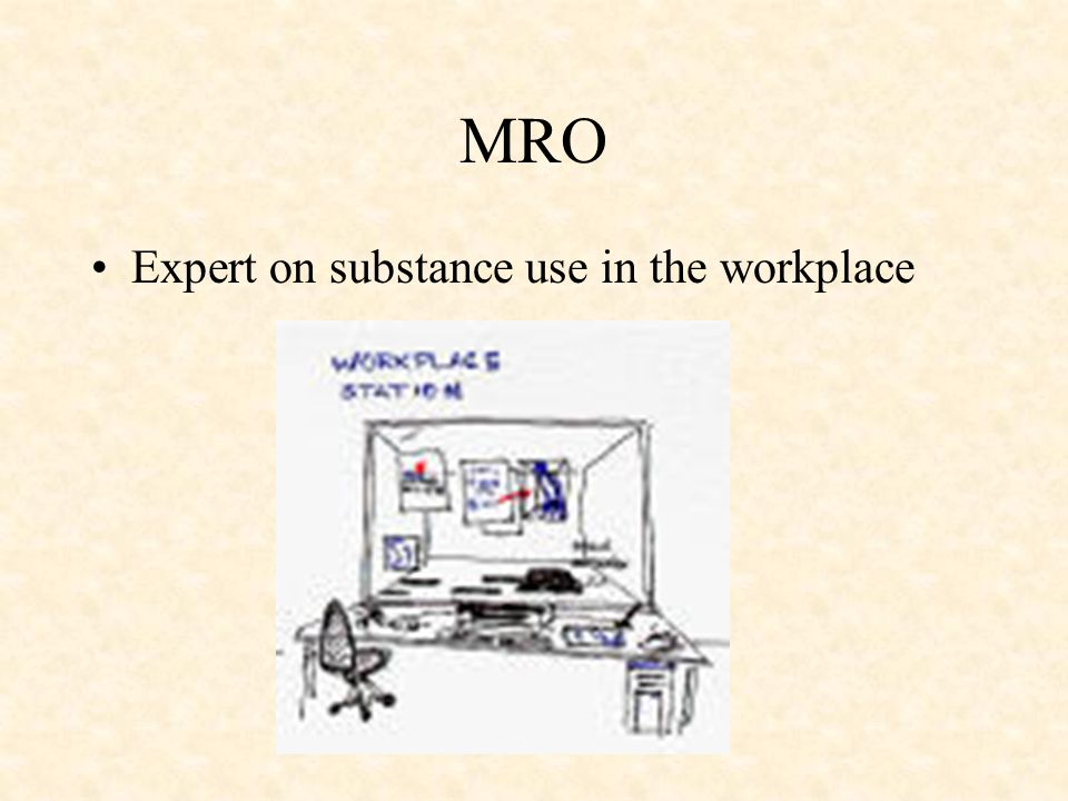 MRO Expert on substance use in the workplace