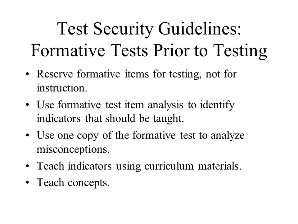 Questions About Test Preparation: What Were Your Answers.