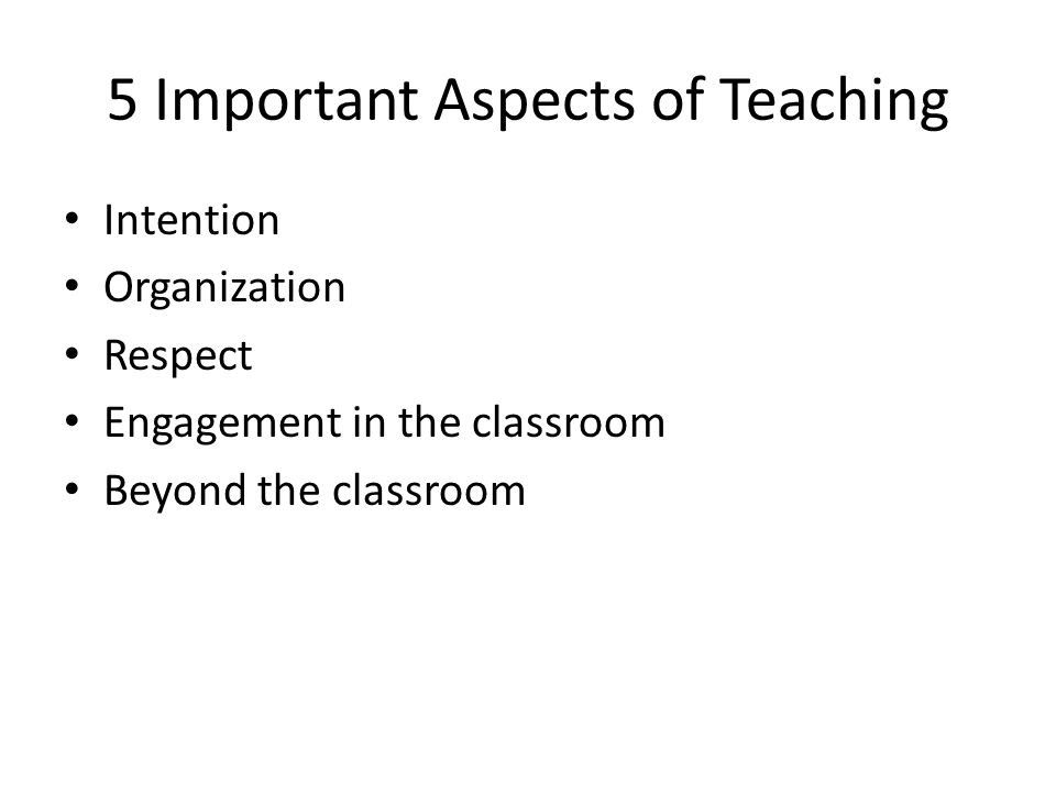 Intention Develop a TEACHING AGENDA by setting instructional goals (economic content and other skills) and use classroom time, assignments, and beyond classroom activities to achieve goals Recognize good teaching requires effort (time!) – Content – Delivery – Administration – Beyond course Learn from experience and others