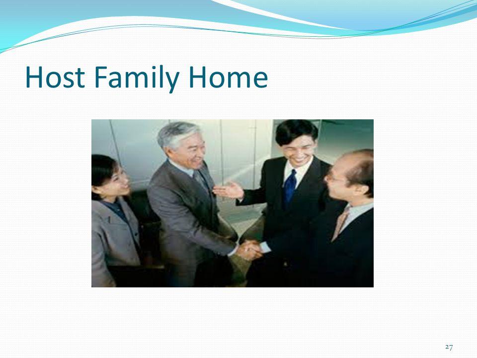 Host Family Home 27