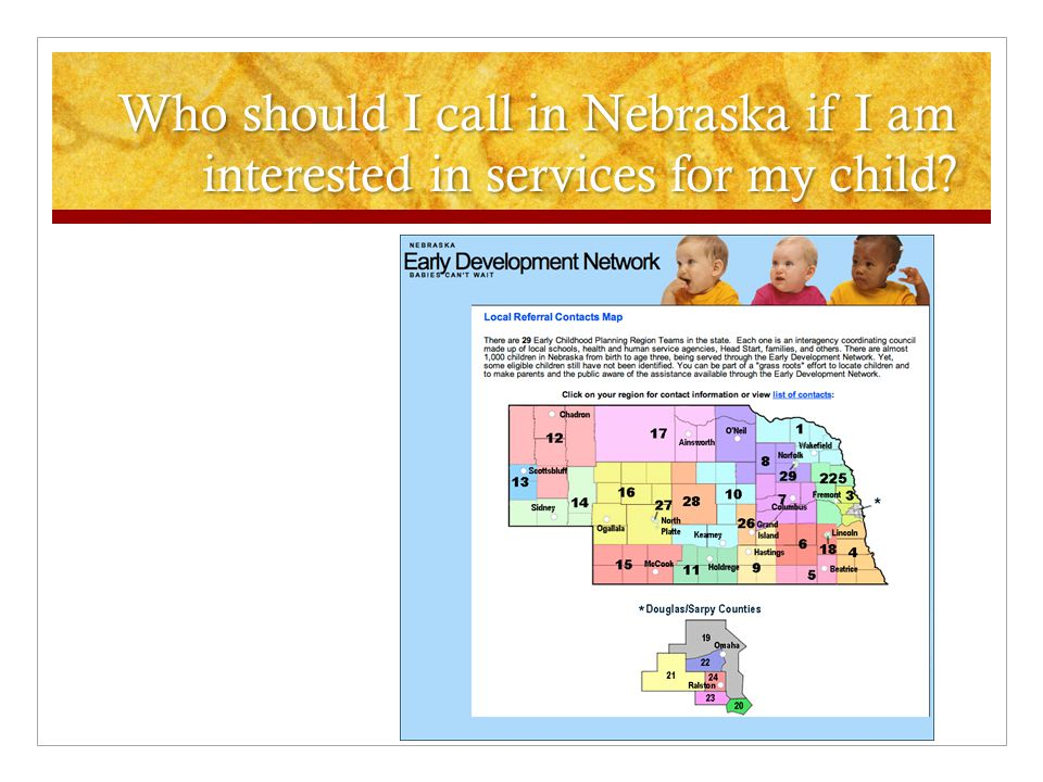 Who should I call in Iowa if I am interested in services for my child?