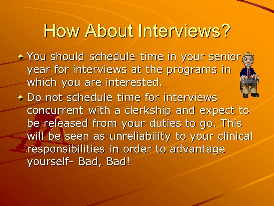 How About Interviews.