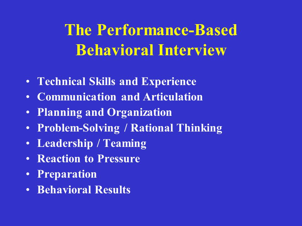 Utilize the exit interview for more than documentation Teach students to use balance as there number one offering to employers Strategize with students and graduates current tips for surviving today's behavioral, pressure interview