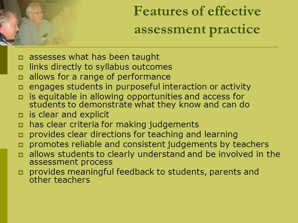 Choosing the right grade in the assessment process  allocating grades requires teachers to use their on-balance judgement in relation to standards.