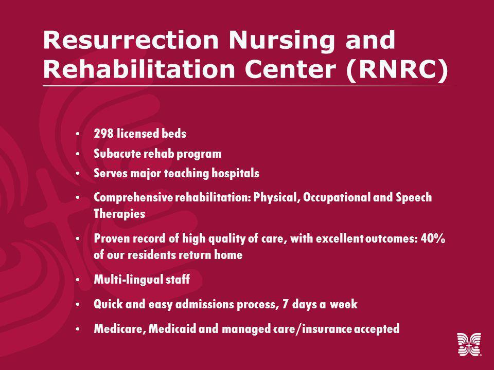 Resurrection Nursing and Rehabilitation Center