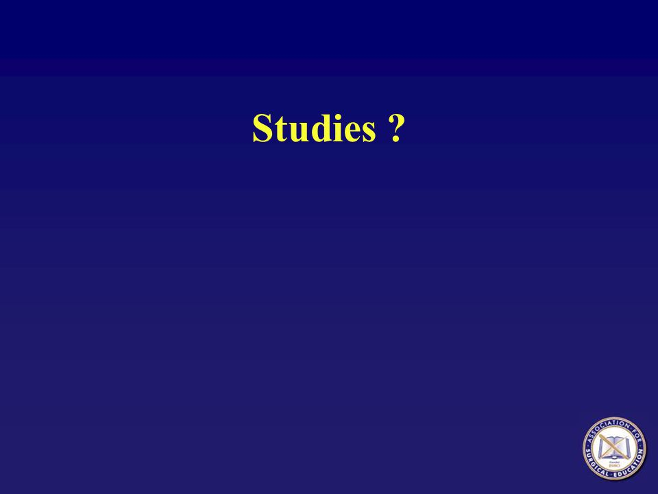 Studies ?