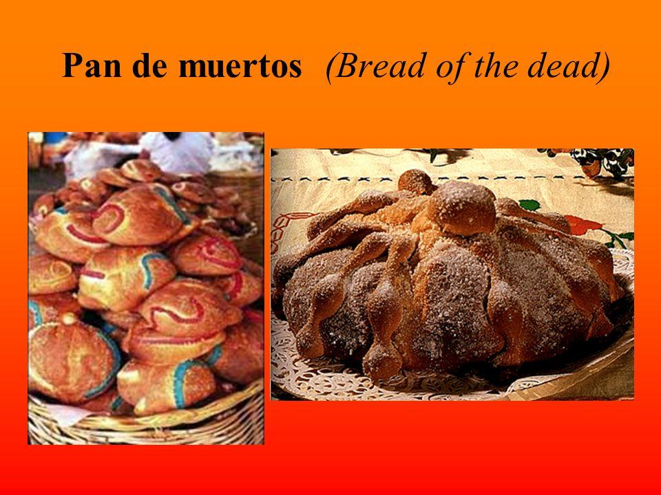 Pan de muertos (Bread of the dead)
