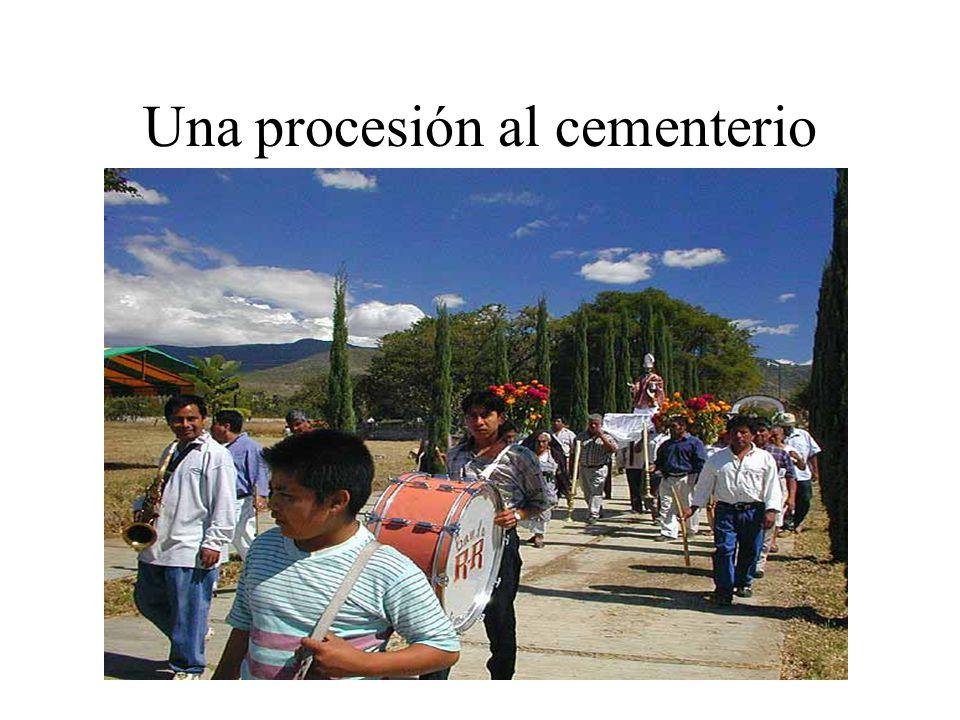 Una procesión al cementerio