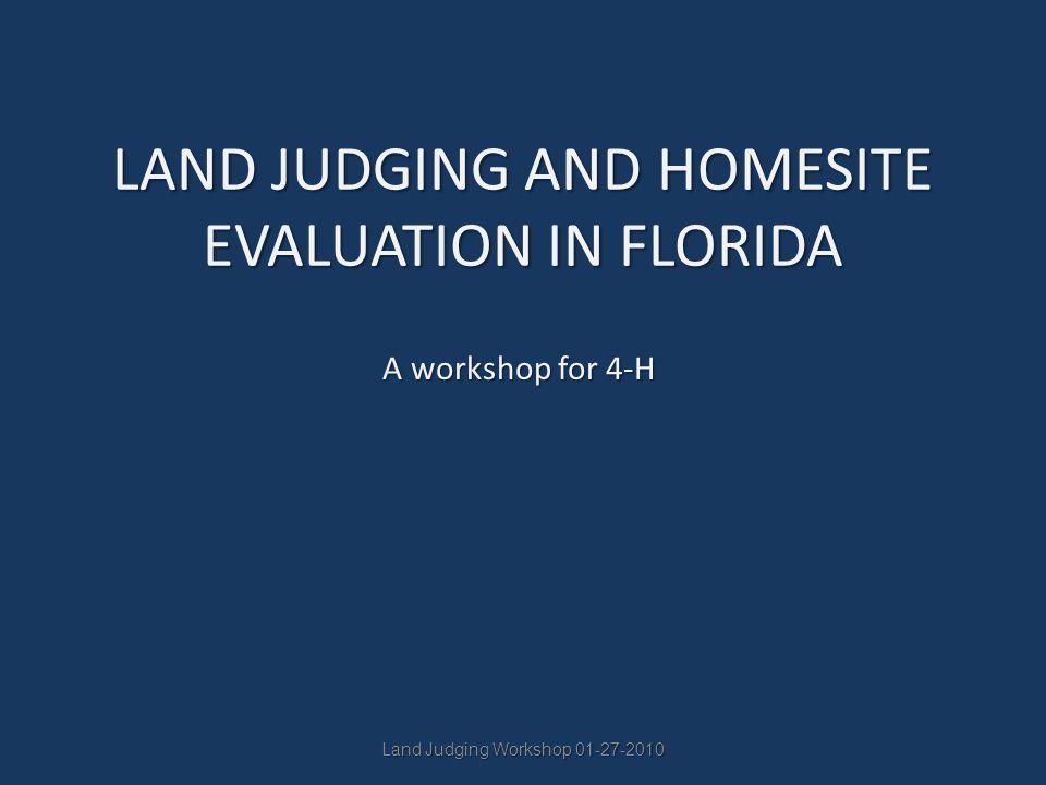Land Judging Workshop 11-17-07 Part I12