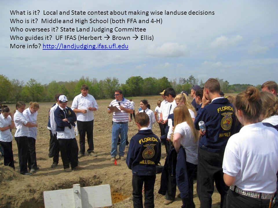 Land Judging Workshop 11-17-07 Part I14