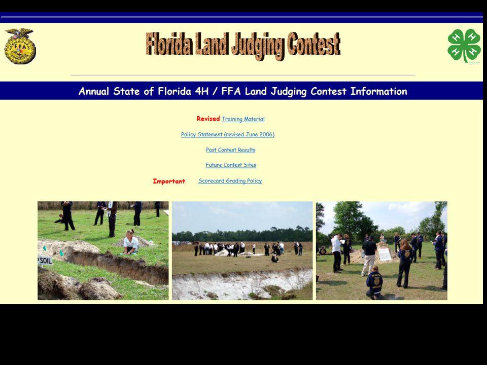 10 http://landjudging.ifas.ufl.edu/ Training Material Click Picture to Download Download PDF