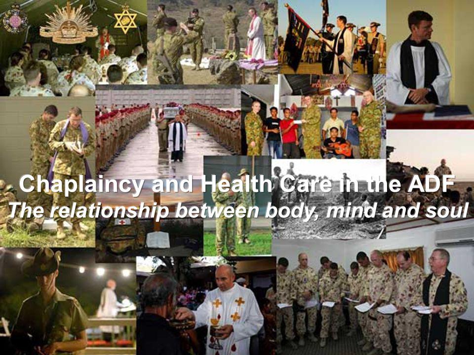 How do you picture the work of military chaplains? Carl Aiken carl.aiken@health.sa.gov.au
