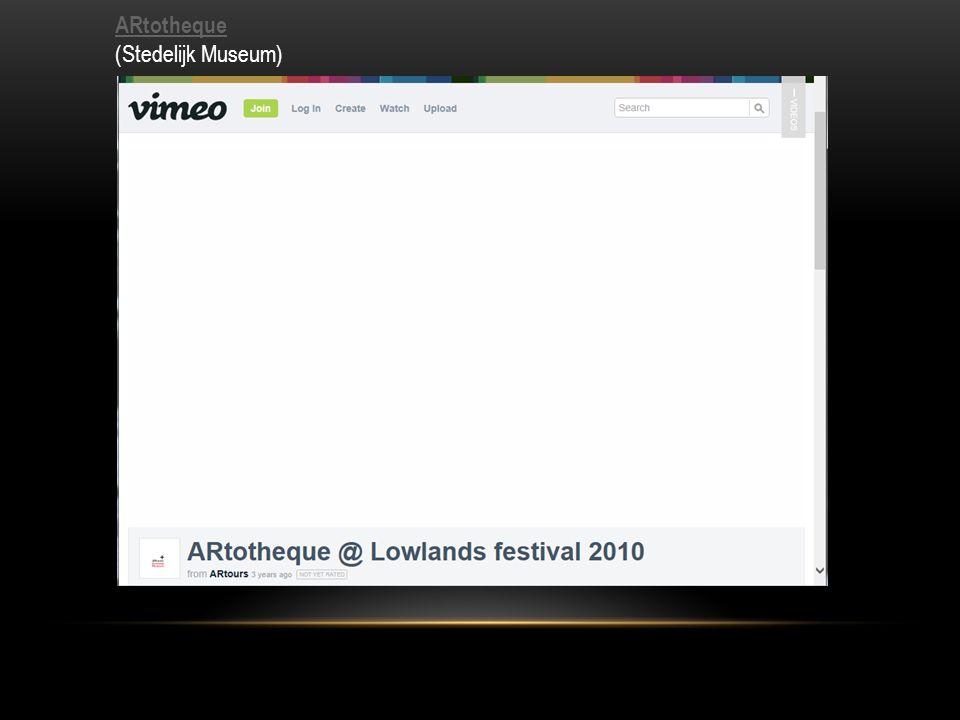 ARtotheque ARtotheque (Stedelijk Museum)
