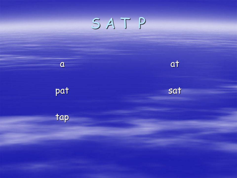 S A T P atsatapattap