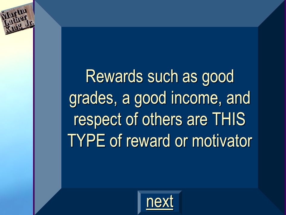 What is achievement motivation? $400