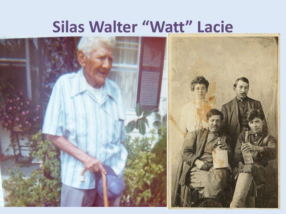 Silas Walter Watt Lacie