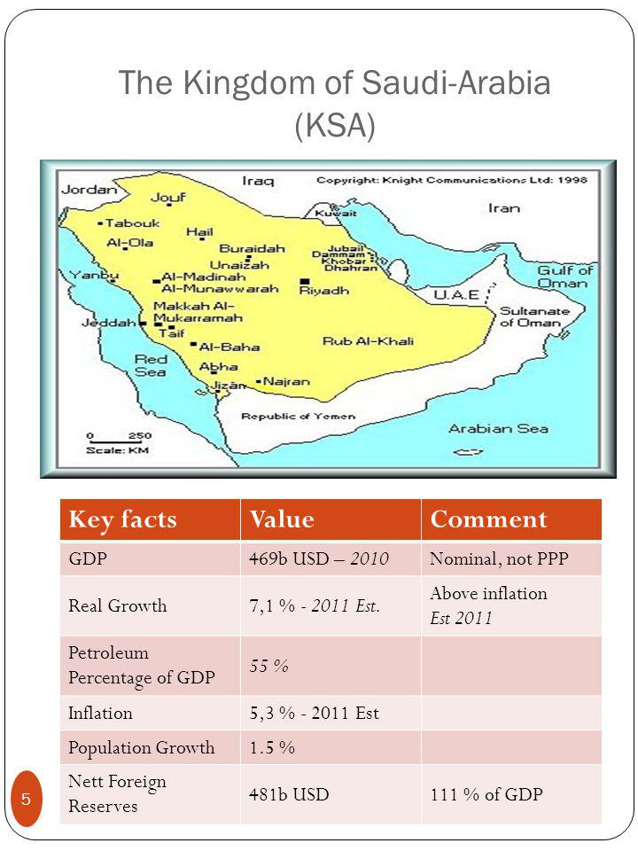 The Economic cities 6 planed, four under development Map of the Economic Cities planed in KSA 16