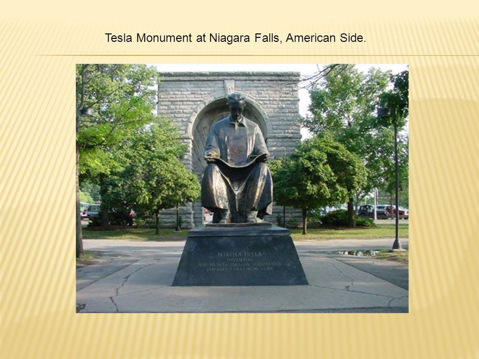 Tesla Monument at Niagara Falls, American Side.