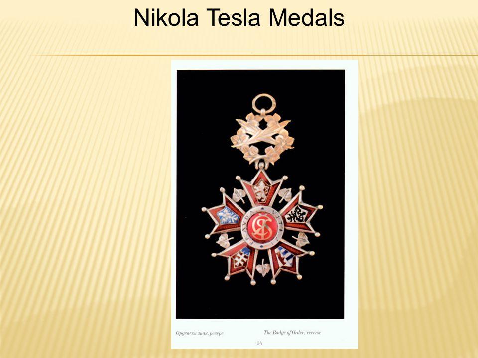 Nikola Tesla Medals